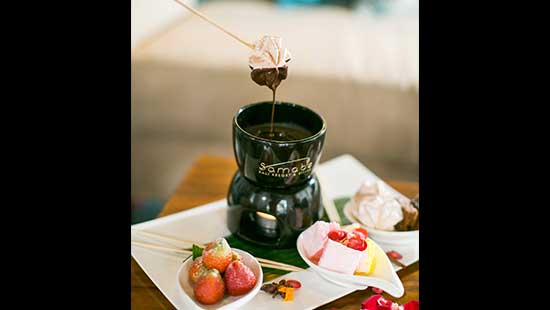 Your Chocolate Fondue