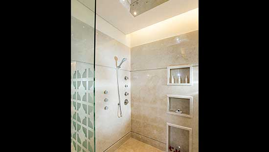 Just the 2 of us Garden View Pool Villa Shower Area