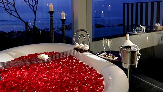 Flower Bath Included